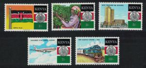 Kenya 25th Anniversary of Independence 5v SG#486-490