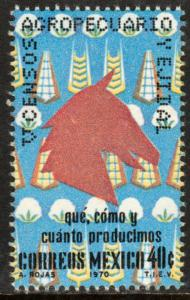 MEXICO 1025 Census. MNH