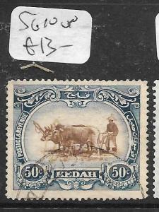 MALAYA KEDAH (P0805B) COW  50C  SG 10  VFU