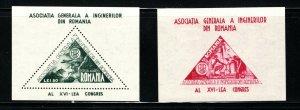 Romania  (1950)  - Scott # C22 - C23,