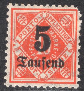 WURTTEMBERG SCOTT O78