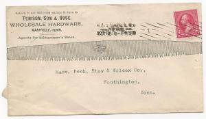 US AD COVER Tenison Son & Rose Wholesale Hardware Nashville, TN