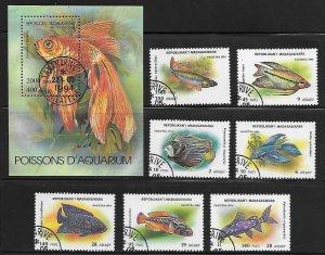 Malagasy 1192-99 Fish Used