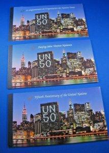 UN/NY 1995 - SCOTT #670 - 50TH ANNIVERSARY OF THE UN BOOKLETS