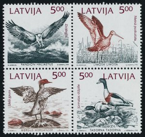 Latvia 335a MNH Birds of the Baltic Shores, Ducks