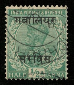 India, 1/2 Anna, King George V (T-6070)