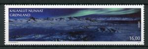 Greenland 2018 MNH Amazing Views SEPAC Aurora Borealis 1v Set Mountains Stamps