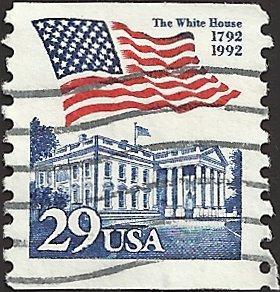 # 2609 USED FLAG OVER WHITE HOUSE