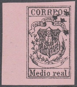 DOMINICAN REPUBLIC  An old forgery of a classic stamp.......................C915