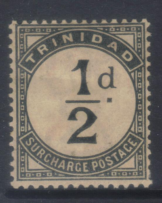 TRINIDAD 1885 POSTAGE DUE SGD1 MH CAT £19