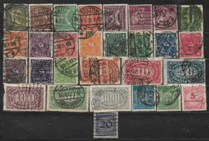 COLLECTION LOT OF 29 GERMANY 1921+  CLEARANCE CV+ $ 47