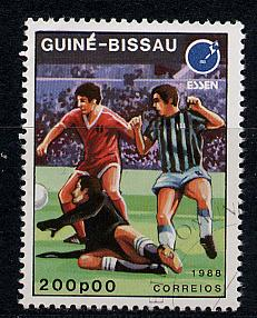 Guinea-Bissau Scott # 714, used
