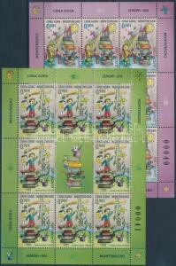 Montenegro stamp Europa CEPT, Childrens Books mini sheet 2010 WS183192