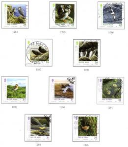 Isle of Man Sc 1141a-2e 2006 Manx Birds stamp set used
