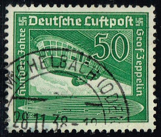 Germany #C60 Airship Gondola; Used (1.50)