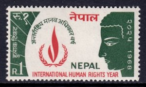 Nepal - Scott #214 - MNH - SCV $3.00