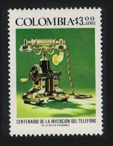 Colombia Telephone Centenary 1v SG#1397