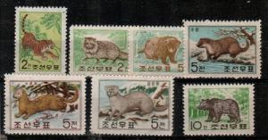 North Korea Scott 194-9 Mint NH (Catalog Value $62.50)