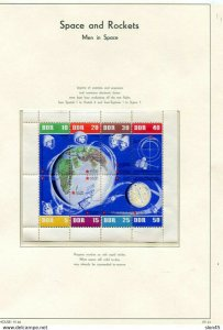 Space & Rockets Worldwide Collection MNH on Lighthouse Hingeless 9 pages 11456