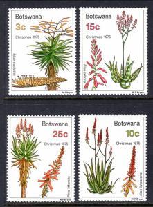 Botswana 143-146 Flowers MNH VF