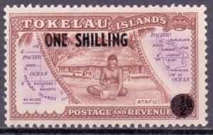 Tokelau. 1956. five. ethnography. MNH.