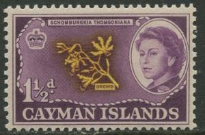 Cayman Islands - Scott 155 - QEII Definitive -1962 - MNH- Single 1.1/2d  Stamp