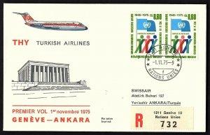 FFC UNITED NATIONS: GENEVA SWITZERLAND  TO ANKARA TURKEY(KB1994)