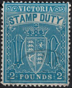 Victoria 1879-1896 SC AR51 Used  $125