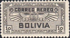 Bolivia  #C36   MH   HR