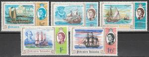 Pitcairn Is #67-71 MNH F-VF (V4562)
