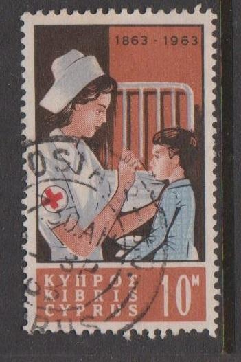 Cyprus Sc#227 Used
