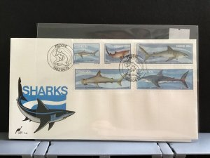 Ciskei 1983 Sharks with special Shark cancel  stamps  cover R27959