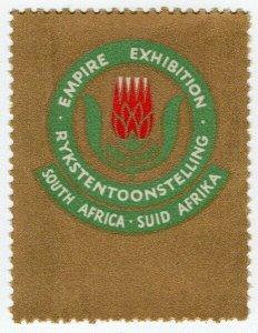 (I.B) South Africa Cinderella : Empire Exhibition 1936
