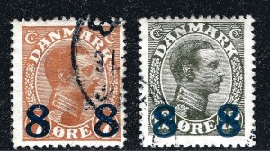Denmark Nice SC #161-62 F-VF Used SCV$15...Such a Deal!