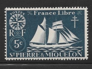 Saint Pierre and Miquelon Mint Never Hinged [4151]