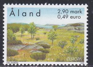 Aland # 157, Europa - Kokar Nature Reserve, NH, 1/2 Cat.