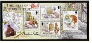 Isle of Man Sc 1171 2006 Beatrix Potter stamp sheet mint NH