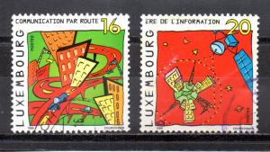 Luxembourg 1017-1018 used