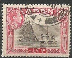 ADEN, 1939, used 3a, Capture of Aden Scott 22