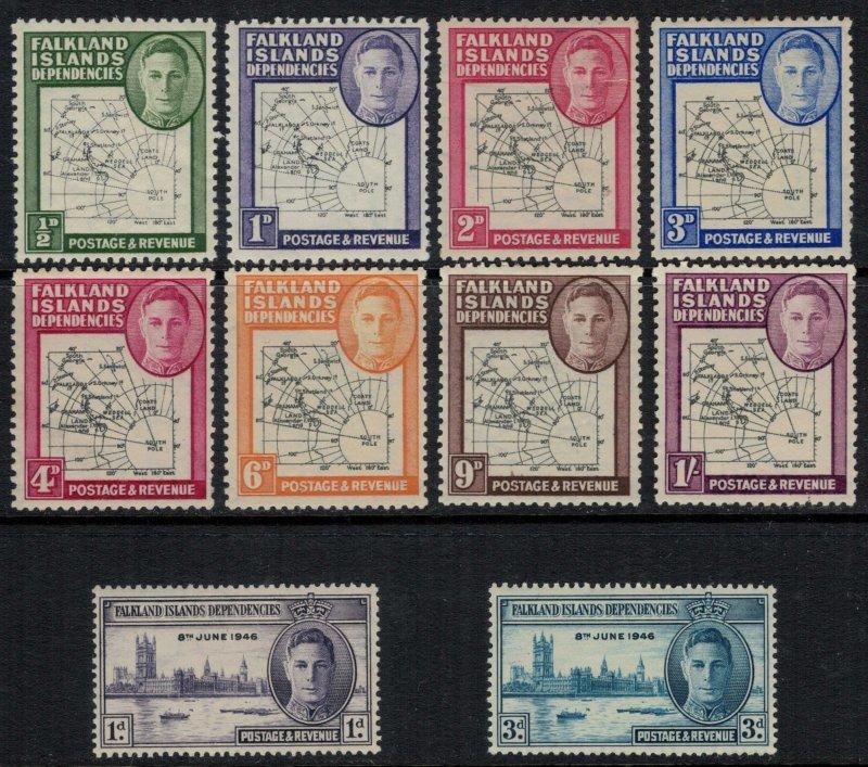 Falkland Is. #1L1-10*  CV $18.40