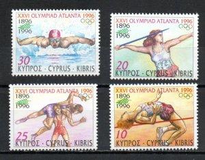 Cyprus 885-888 MNH