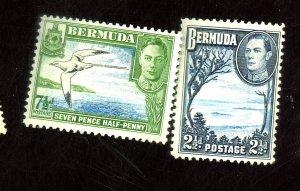 BERMUDA #120 121D MINT FVF OG NH Cat $19