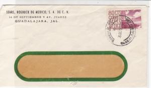 Mexico 1962 Sears, Roebuck of Mexico. City of Mexico Stamp Window Cover Ref25709
