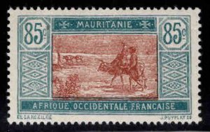 Mauritania Scott 44 MH* stamp