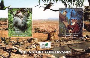 Mauritania 2003 Monkeys/Birds/Koala/Snakes/Butterfly/Nature SS Perforated MNH