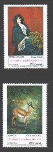 Turkey. 1970. 2184-85. Paintings painting. MNH.