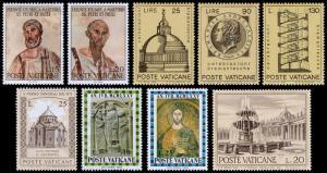 Vatican City Scott 448 // 573 (1967-75) Mint NH/NG F-VF B