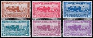 Egypt Scott 108-113 (1926) Mint Hinged VF Complete Set, CV $77.75 C