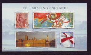Great Britain Sc 2462 2007  Celebrating England stamp sheet mint  NH