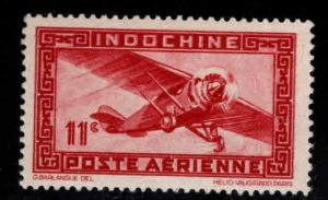 French Indo-China Scott C18c MH*  Vichi Airmail without RF